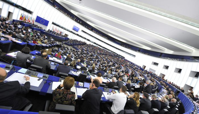 Illustration - Hemicycle in Strasbourg, during a plenary  session